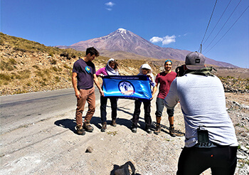 The Memories of A Damavand Tour Leader