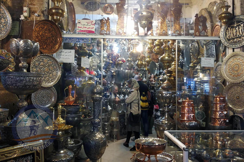 alibabatrek iran tour Classic Persia Tour & Iran Cultural Tour Isfahan Bazaar