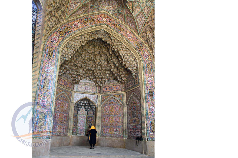 alibabatrek iran tour Classic Persia Tour & Iran Cultural Tour shiraz Nasir-ol-molk Mosque