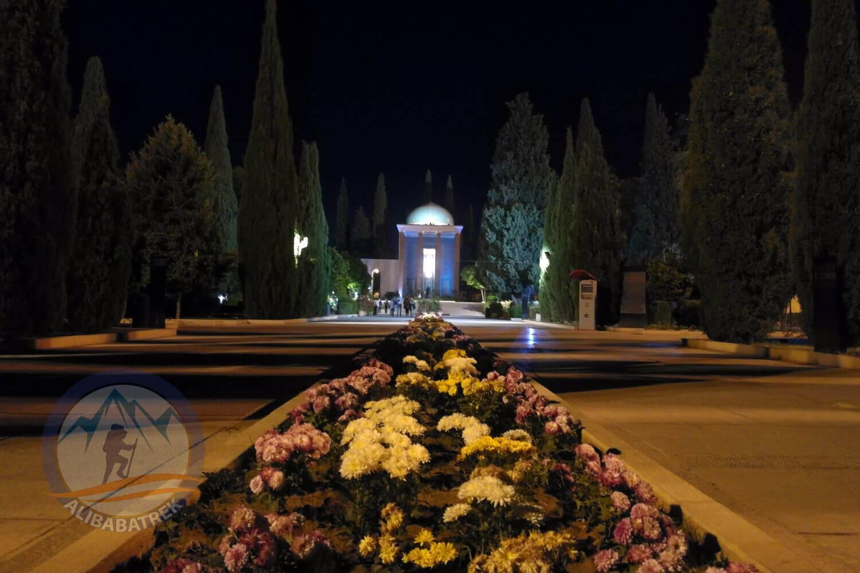 alibabatrek iran tour Classic Persia Tour & Iran Cultural Tour shiraz Tomb of Saadi