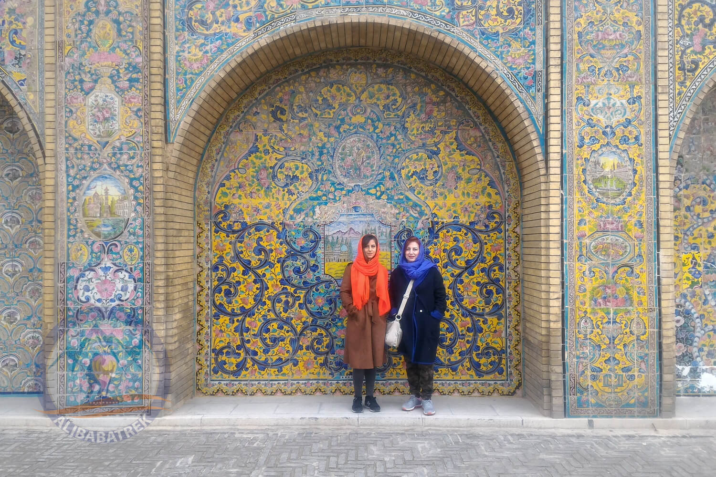 alibabatrek iran tour Classic Persia Tour & Iran Cultural Tour tehran golestan palace