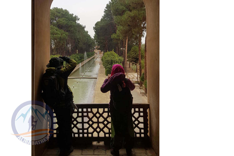 alibabatrek iran tour Classic Persia Tour & Iran Cultural Tour yazd Dowlat Abad Garden