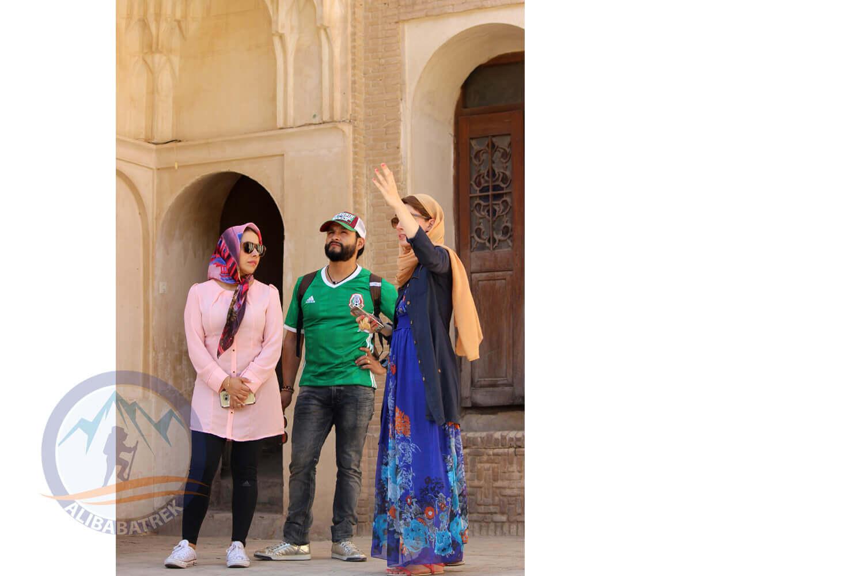 alibabatrek iran tour Classic Persia Tour & Iran Cultural Tour yazd Tabātabāei House