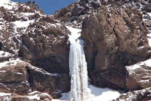 Damavand Frozen Waterfall