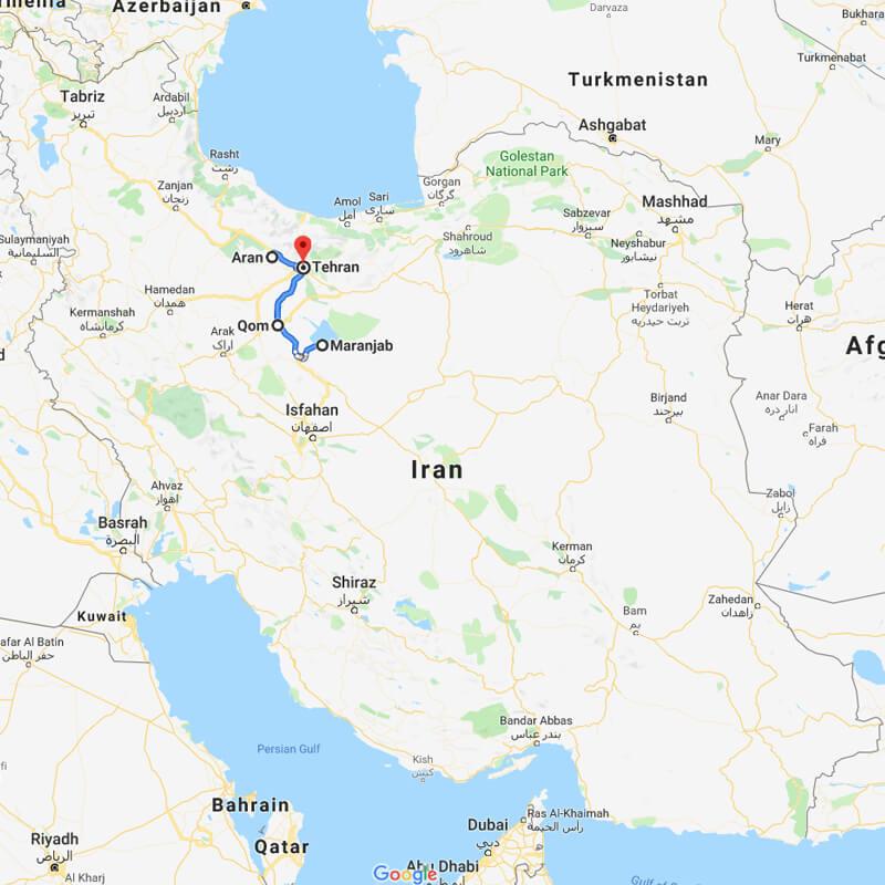 Alibabatrek Iran central desert trekking tour