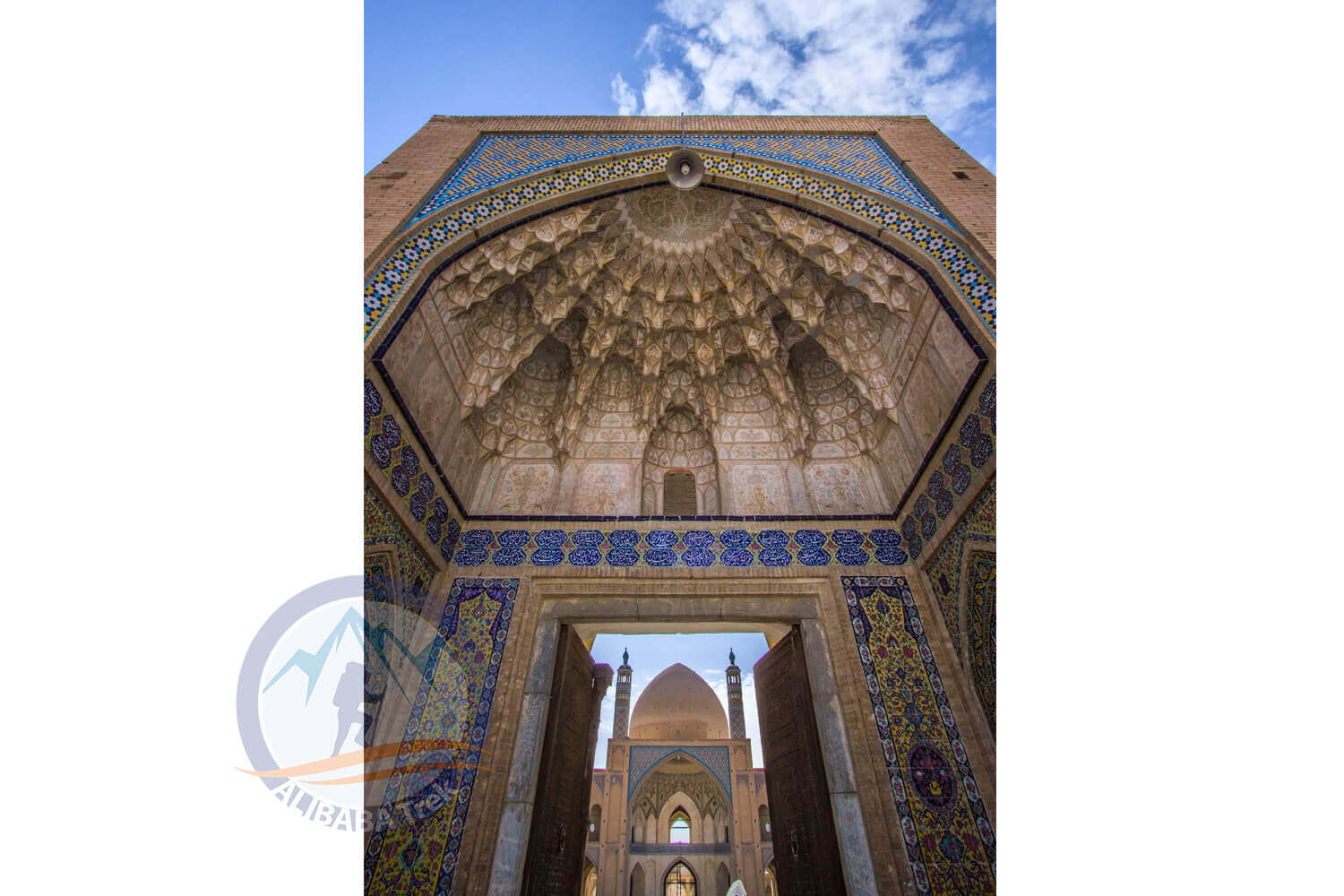 Alibabatrek iran deserts and culture tour Agha Bozorg Mosque