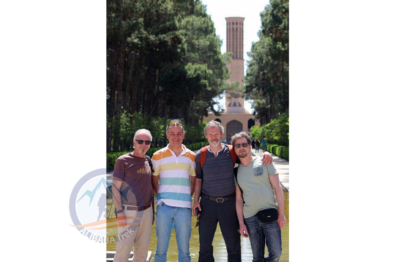 Alibabatrek iran deserts and culture tour Dowlat Abad Garden
