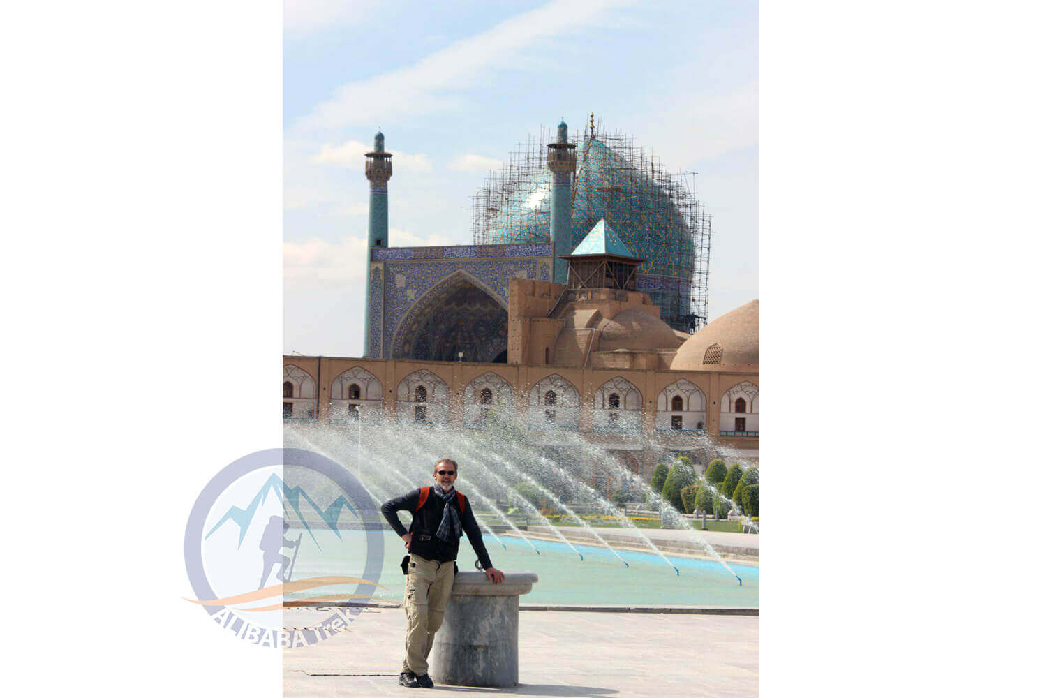 Alibabatrek iran deserts and culture tour Naqsh-e Jahan Square