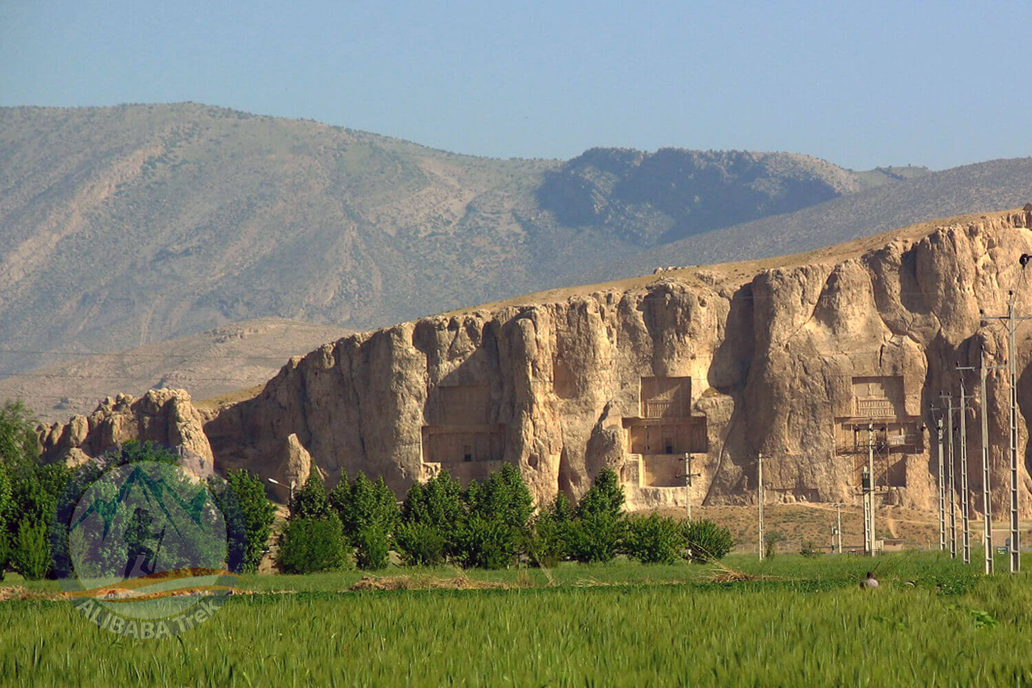 Alibabatrek iran deserts and culture tour Naqsh-e Rostam