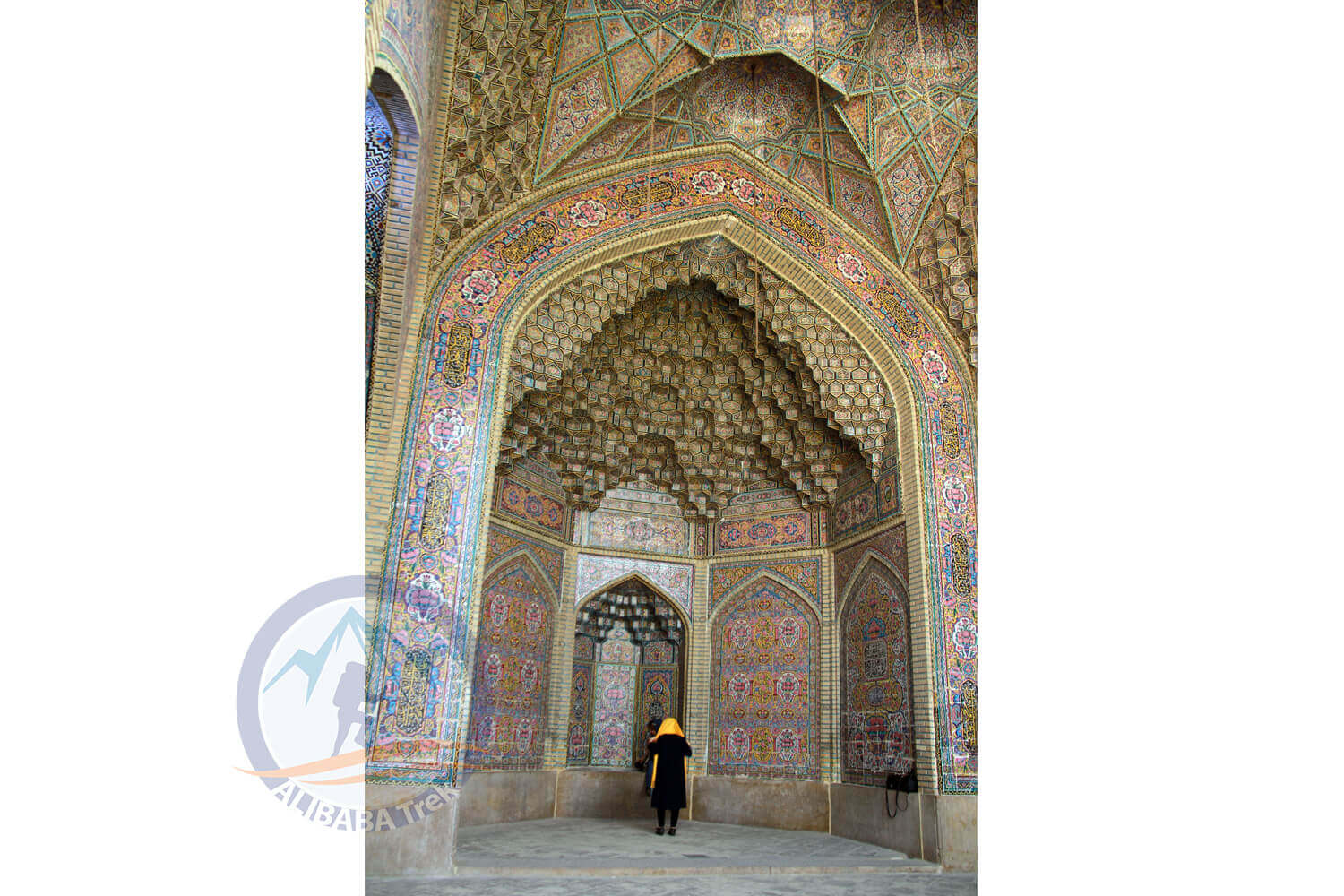 Alibabatrek iran deserts and culture tour Nasir-ol-molk Mosque