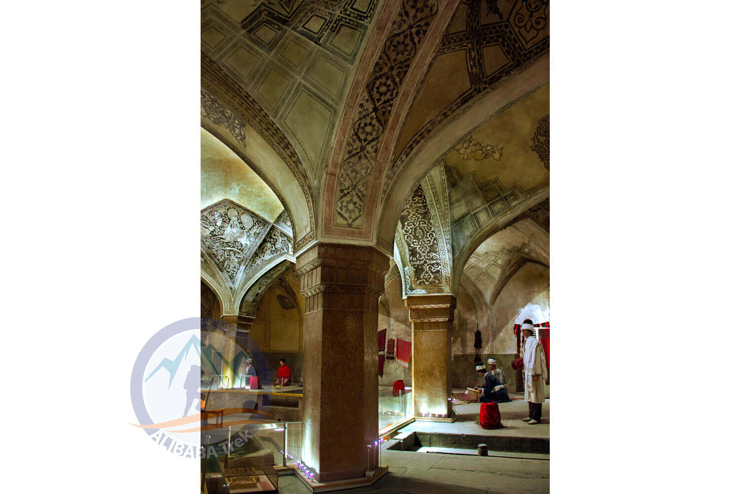 Alibabatrek iran deserts and culture tour Vakil Bath