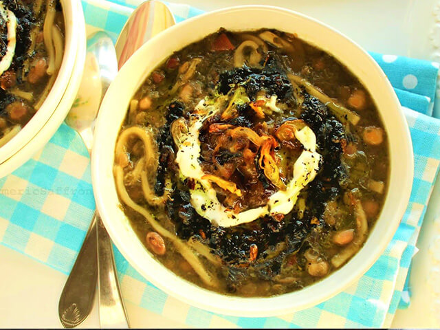 alibabatrek Most Popular Iranian Foods- Ash Reshteh - Iran blog-Iran tour