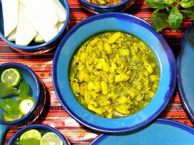 alibabatrek Most Popular Iranian Foods- Baghali Ghatogh - Iran blog-Iran tour