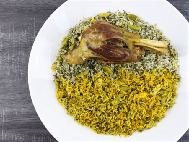alibabatrek Most Popular Iranian Foods- Baghali Polo - Iran blog-Iran tour