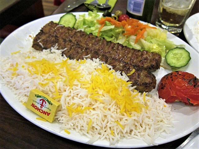 alibabatrek Most Popular Iranian Foods- Kebab Koobideh - Iran blog-Iran tour