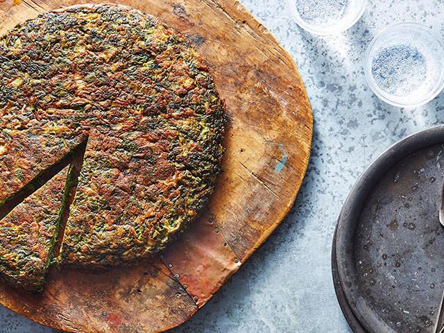 alibabatrek Most Popular Iranian Foods - Kuku Sabzi - Iran blog-Iran tour