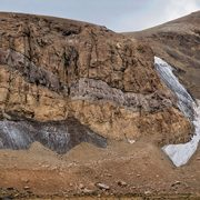 alibabatrek Yakhar Glacier - Damavand Glaciers - Iran blog - Iran tour - Damavand trekking