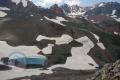 Imaginary scene of south face of Alamkooh, above Lashgarak summit!