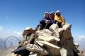 Rocky summit of mount Alamkooh (4850m)!