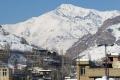 Mount Koloonbastak from Fasham Village in winter!