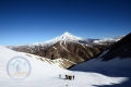 On the way to Damavand Summit at 5000m