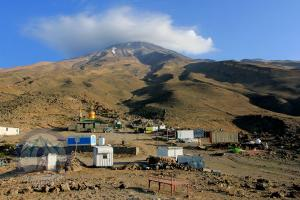 Damavand Southern basecamp at 3100m