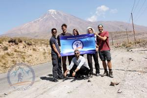 On the way to Rineh Village, Damavand
