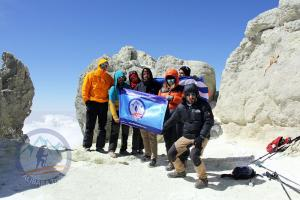 Damavand Summit 5671m!